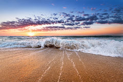 Beautiful sunrise. Royalty Free Stock Photos
