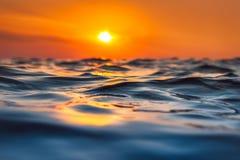 Beautiful sunrise over the horizon Stock Photography