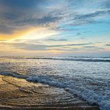 Beautiful sunrise. Over the ocean Royalty Free Stock Images