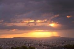 Beautiful sunrise over Palma Royalty Free Stock Images