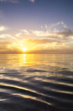 Beautiful sunrise over the sea. Royalty Free Stock Images