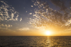Beautiful sunrise over the sea. Stock Photo