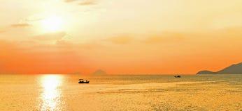 Beautiful sunrise royalty free stock photography