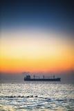 Beautiful sunrise over the sea Royalty Free Stock Image