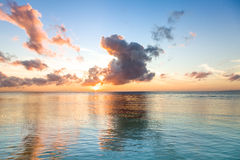 Beautiful sunrise over sea Royalty Free Stock Photography