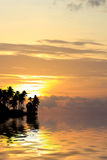 Beautiful sunrise in Rawai Phuket Royalty Free Stock Image