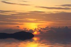 Beautiful sunrise in Rawai Phuket Stock Photos