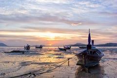 Beautiful sunrise in Rawai Phuket Stock Image
