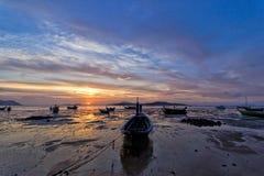 Beautiful sunrise in Rawai Phuket Royalty Free Stock Image