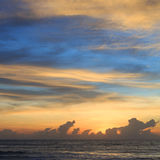 Beautiful sunrise sky in the morning with colorful cloud Royalty Free Stock Images