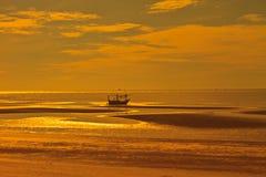 Beautiful sunrise on tropical sea Royalty Free Stock Image