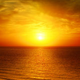 Beautiful sunset Royalty Free Stock Image