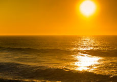 Beautiful sunset, Atlantic Ocean Royalty Free Stock Images