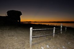 Beautiful sunset. royalty free stock photography