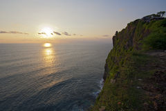 Beautiful sunset in Bali Stock Photo