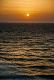 Beautiful sunset and beach background Royalty Free Stock Photos