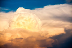 Beautiful sunset cloud in the sky.  Royalty Free Stock Images