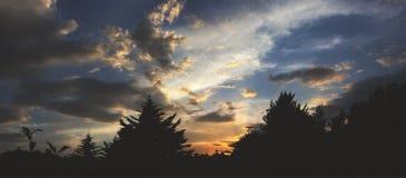 Beautiful Sunset. Beautiful colorful sky at sunset Stock Images