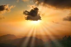 Magnifecent Sunset stock image