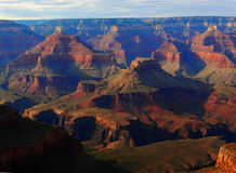 Beautiful sunset Grand Canyon Royalty Free Stock Images
