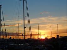 Beautiful_sunset stock image