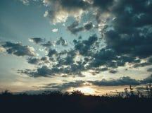 Beautiful sunset. Just a beautiful, spellbinding sunset Stock Image