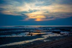Beautiful sunset on Koh Samui, Thailand Stock Photography