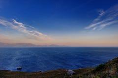 Beautiful sunset on Kos island Stock Photos