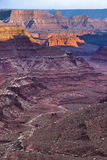 Beautiful Sunset near the Marlboro Point Canyonlands Utah Stock Photo