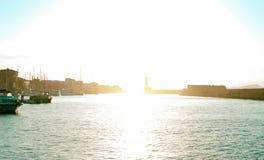Beautiful sunset. Royalty Free Stock Photos