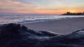 Beautiful Sunset Over The Sea. stock image