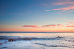 Free Beautiful Sunset Over Summer Ocean Royalty Free Stock Images - 26749529