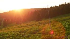 Free Beautiful Sunset Over The Krkonose Mountain Stock Images - 72798964