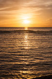 Beautiful Sunset. Of the Pacific ocean Royalty Free Stock Photo