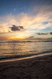 Beautiful Sunset of the Pacific Royalty Free Stock Photography