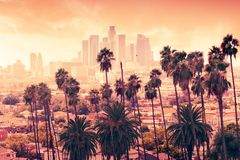 Los Angeles, California stock image