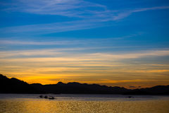 Beautiful sunset, Philippines Royalty Free Stock Photos