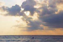 A beautiful sunset stock photos