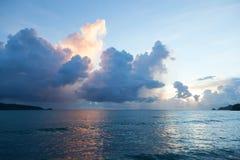 Beautiful sunset. Phuket. Patong. seascape Stock Image