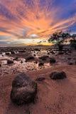 Beautiful sunset in Phuket Royalty Free Stock Images