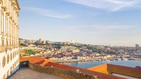 Beautiful sunset in Porto. Portugal royalty free stock image