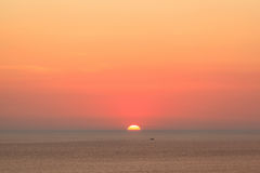 Beautiful sunset at Promthep cape view point in Phuket Royalty Free Stock Photo