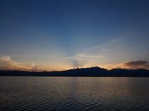 Beautiful sunset Royalty Free Stock Photography