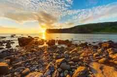 Beautiful sunset in Scotland Stock Photo