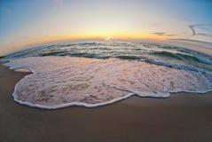 Beautiful sunset at the sea Royalty Free Stock Photo