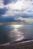 Beautiful sunset on sea Royalty Free Stock Image