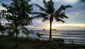 Sunset at Koh Chang, Thailand Stock Photography