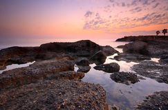 Beautiful sunset secenery Royalty Free Stock Photos