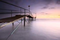 Beautiful sunset secenery Stock Photography