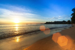 Beautiful sunset in the Siam Gulf. Nature. Beautiful sunset in the Siam Gulf Royalty Free Stock Photography
